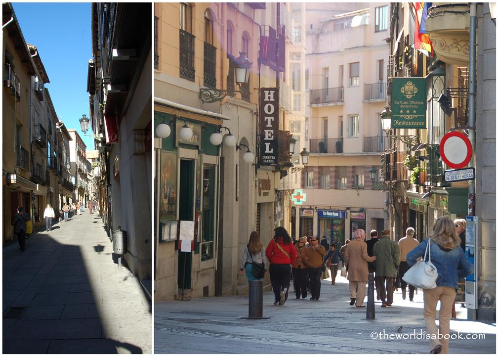 Streets of Segovia