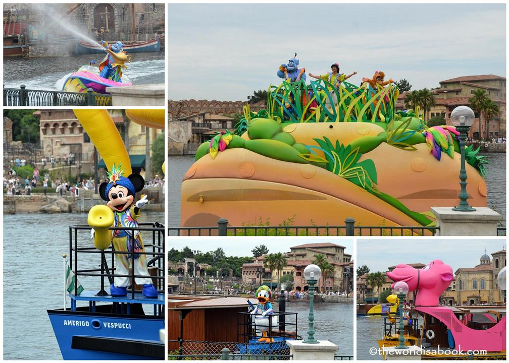 Disney Sea Summer Splash