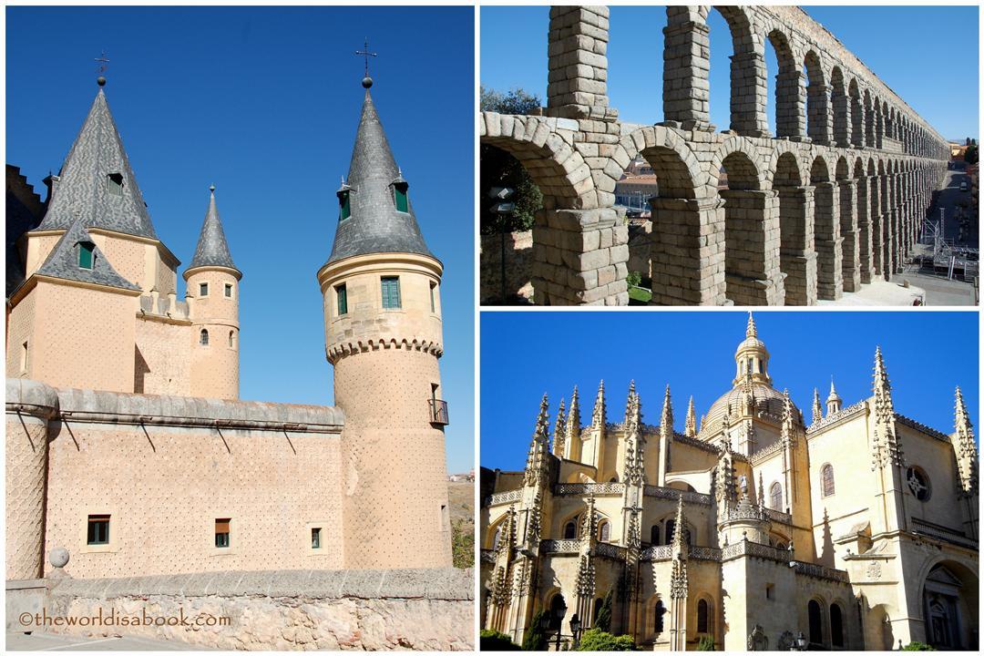 Segovia Spain main attractions