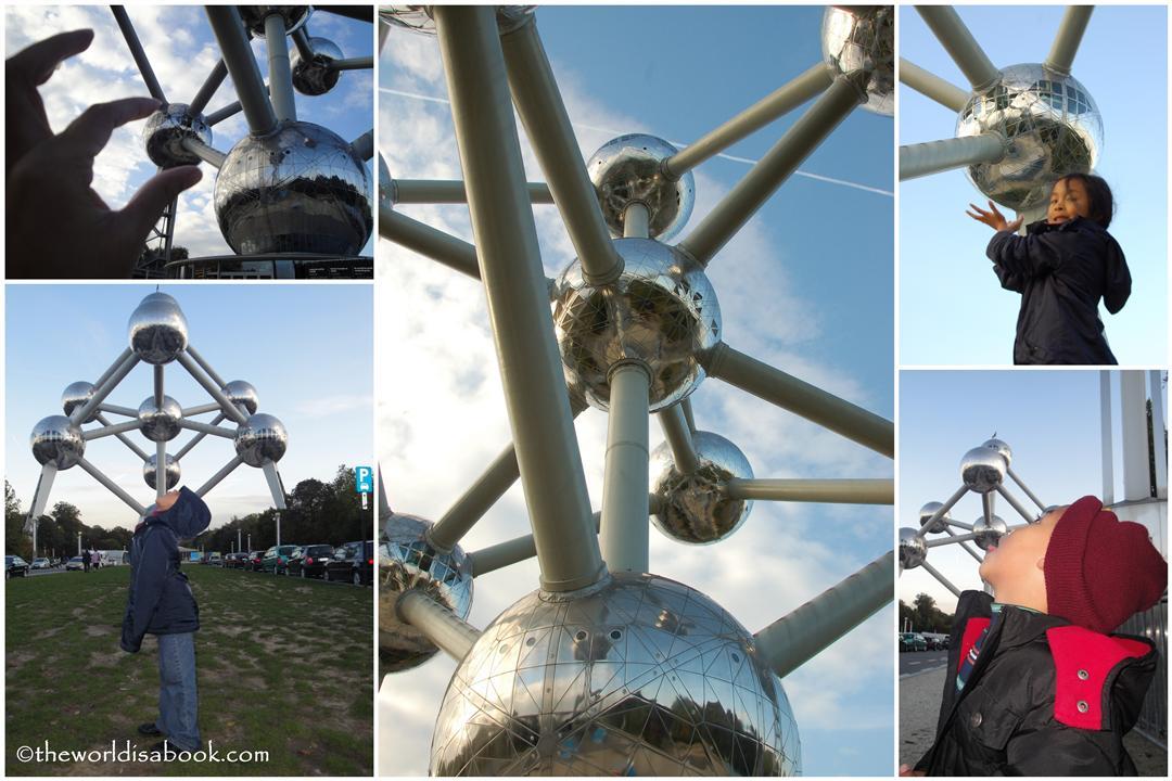 Fun at Brussels Atomium