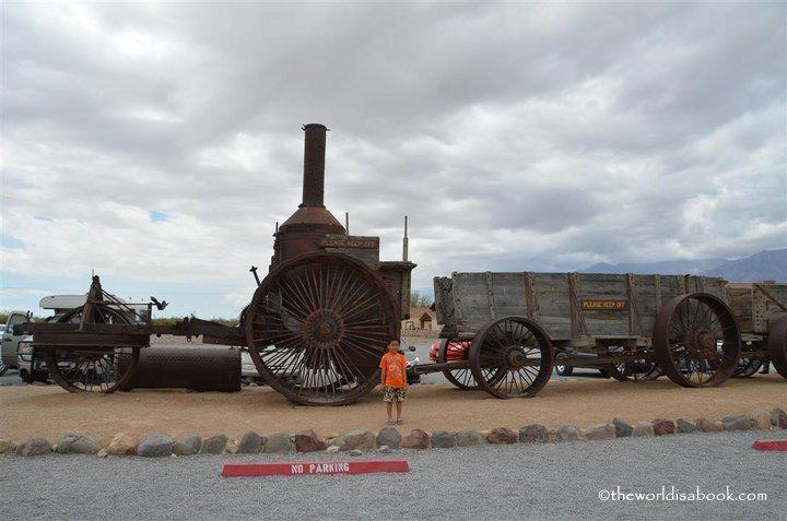 Death Valley chuck wagon