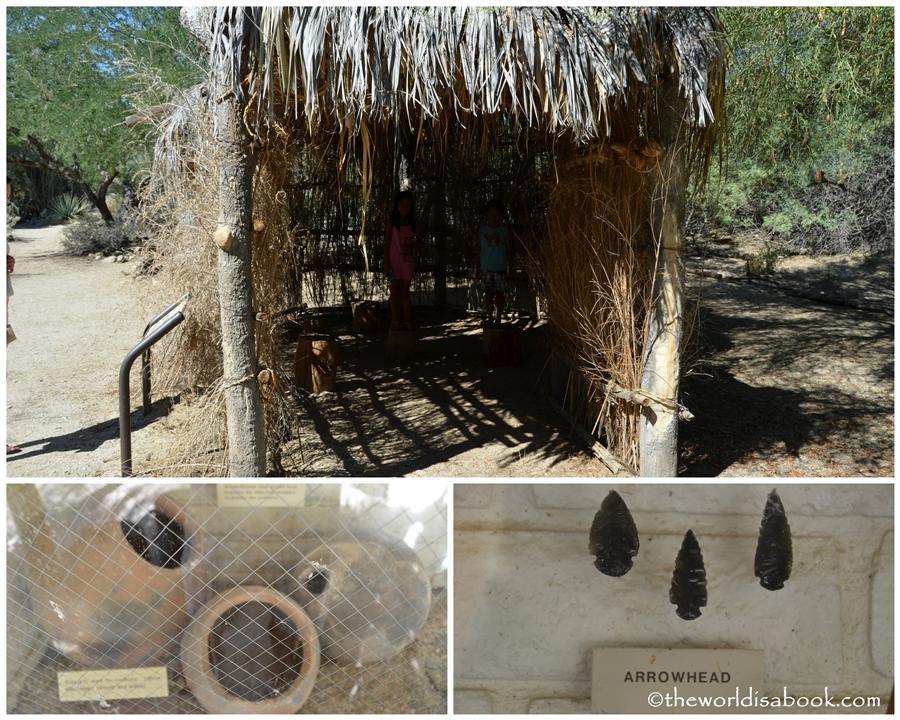 Indian village living desert