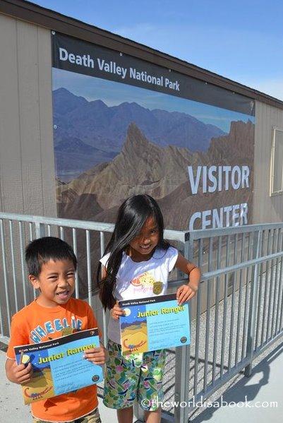 Death valley National Park Junior Rangers