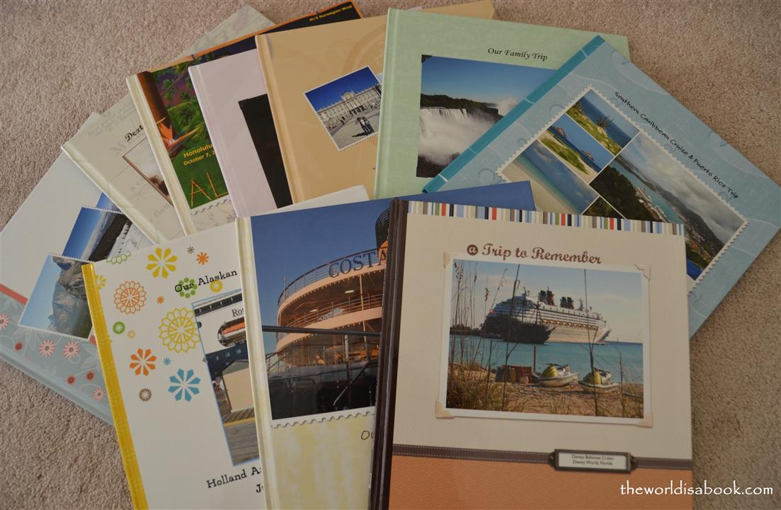 Travel Photobook Cover Ideas : Photo books preserving travel memories the world is a book