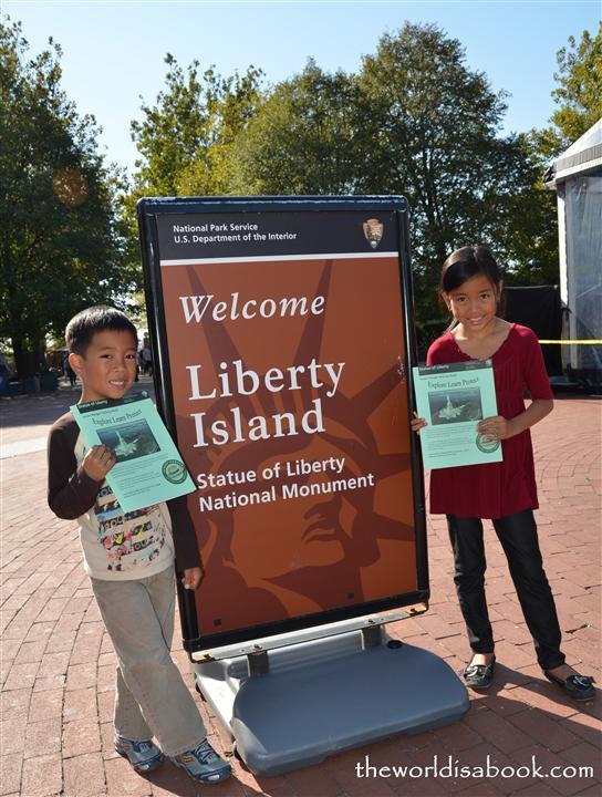 Statue of Liberty Junior Rangers
