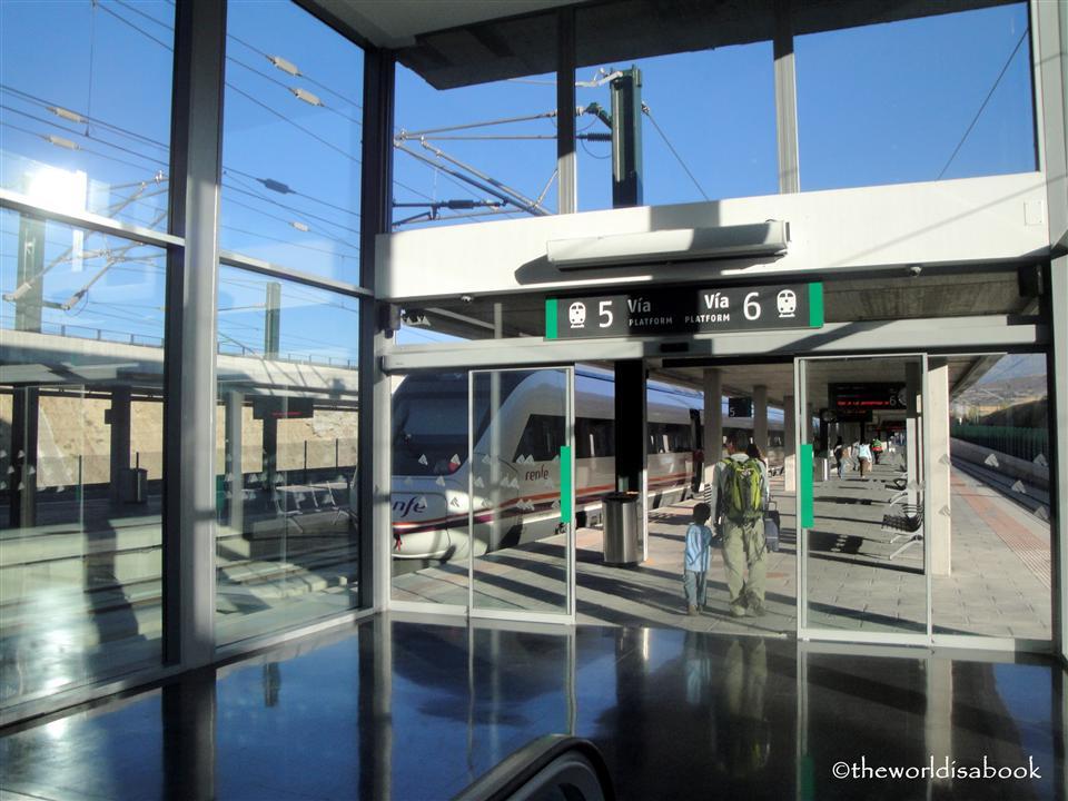 Segovia Guiomar station spain