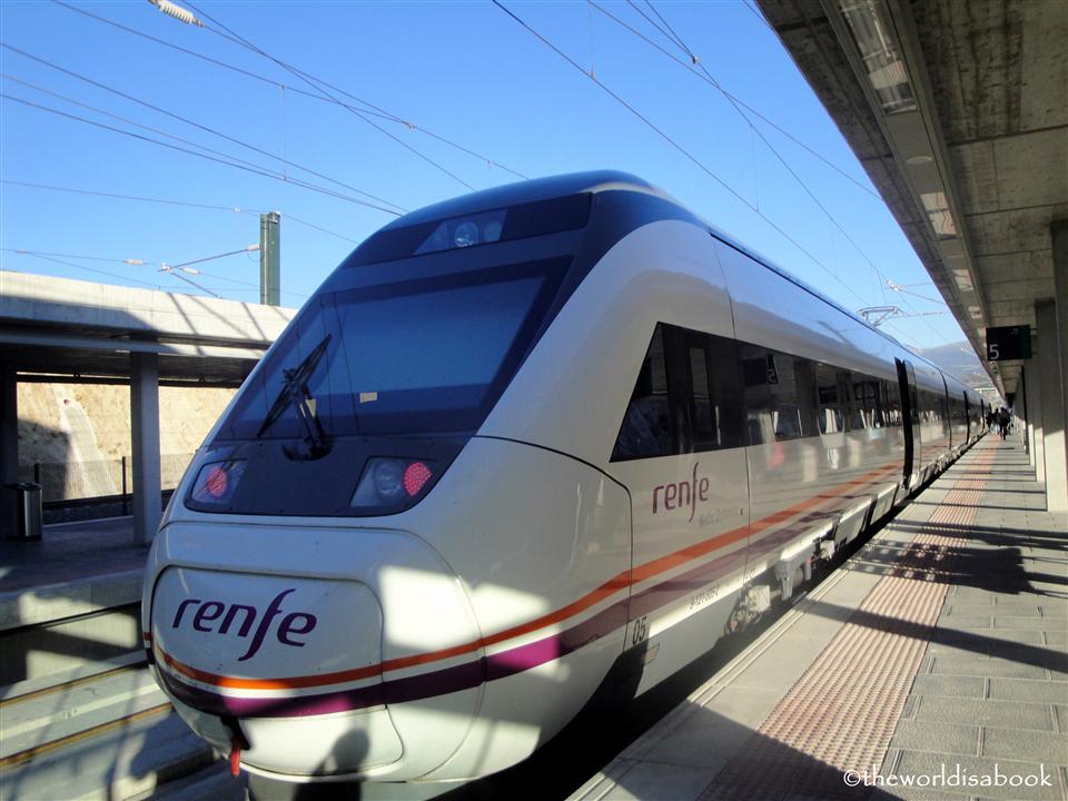 Скоростные поезда мадрид аликанте автобус