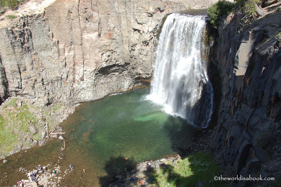 Rainbow Falls california