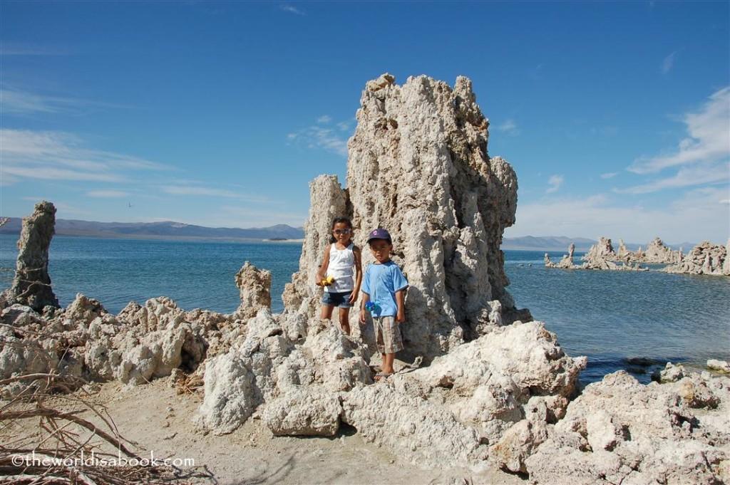 Tufa towers at Mono Lake