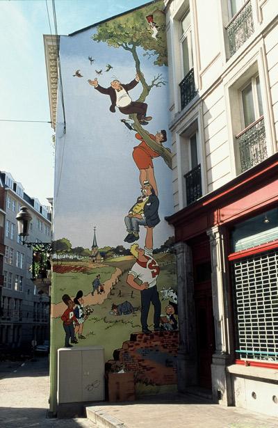 Brussels murals