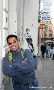 Brussels Bruce Springsteen mural