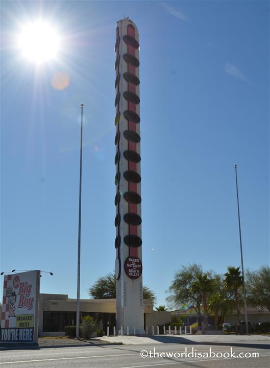 Baker world tallest thermometer