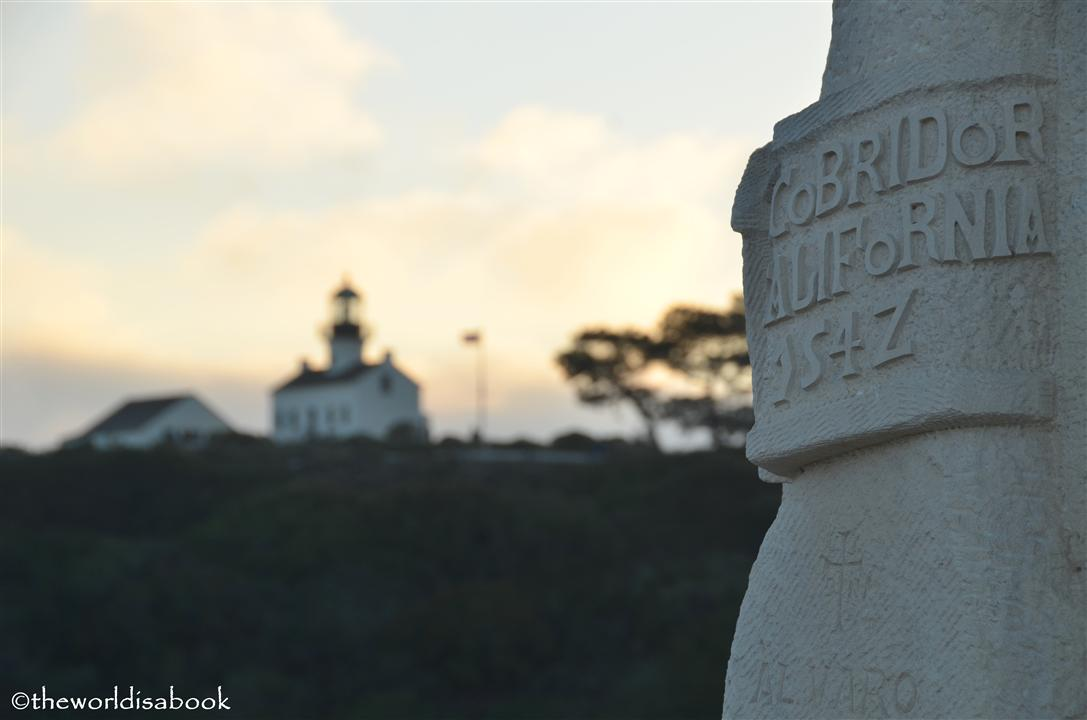 Cabrillo national monument old point loma lighthouse