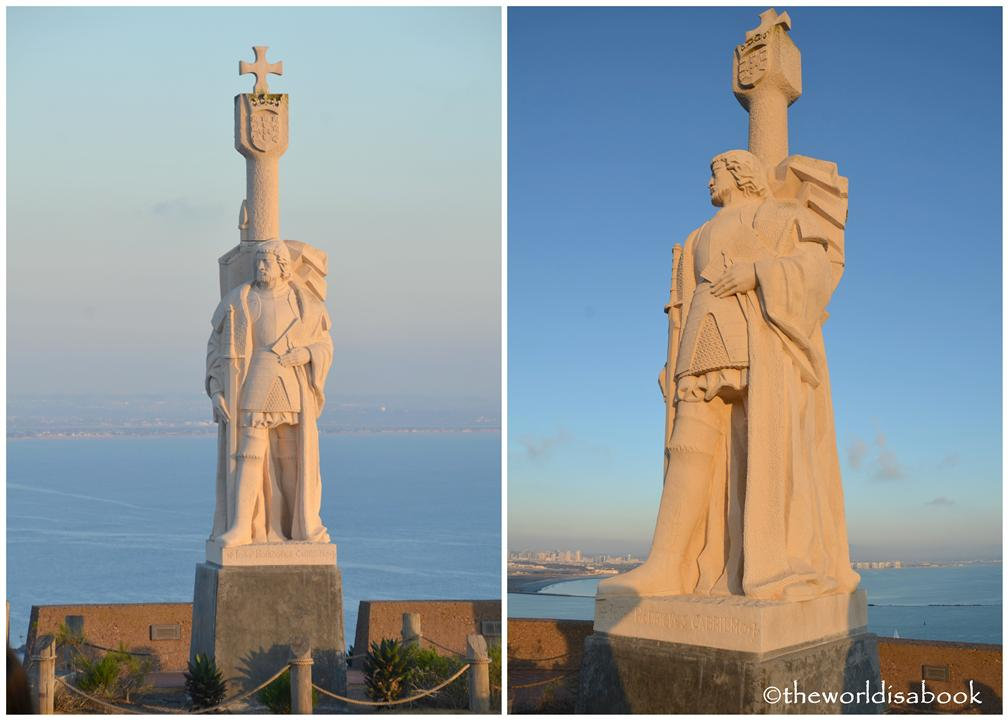 Cabrillo National Monument statue