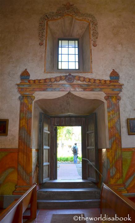 Mission santa Barbara door