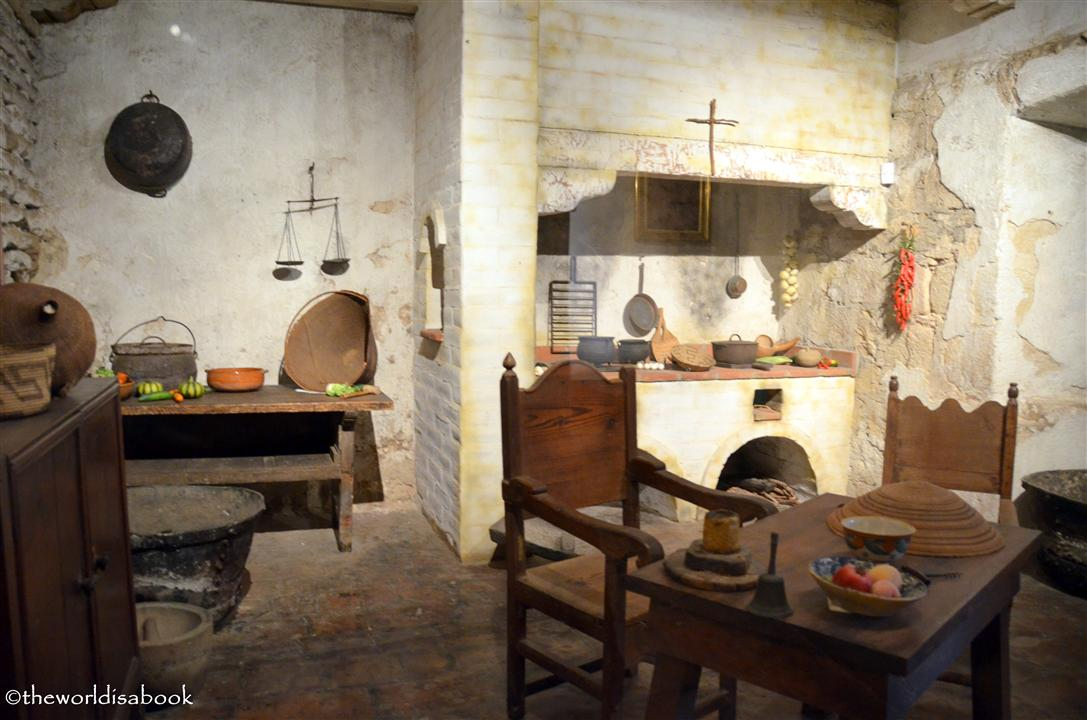 mission santa barbara kitchen