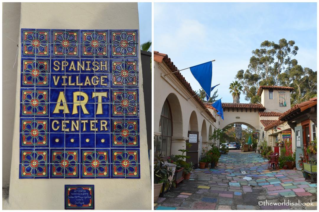 Spanish Village Art Center balboa Park