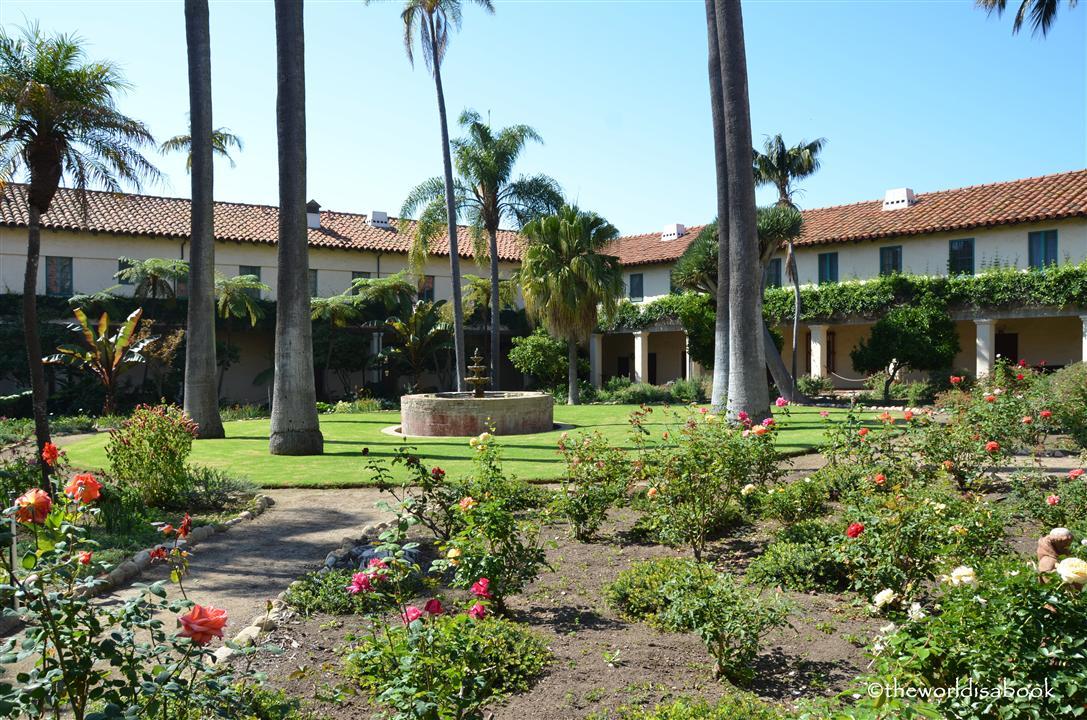 Mission Santa Barbara sacred garden