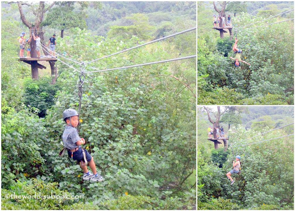 mayan jungle canopy zipline