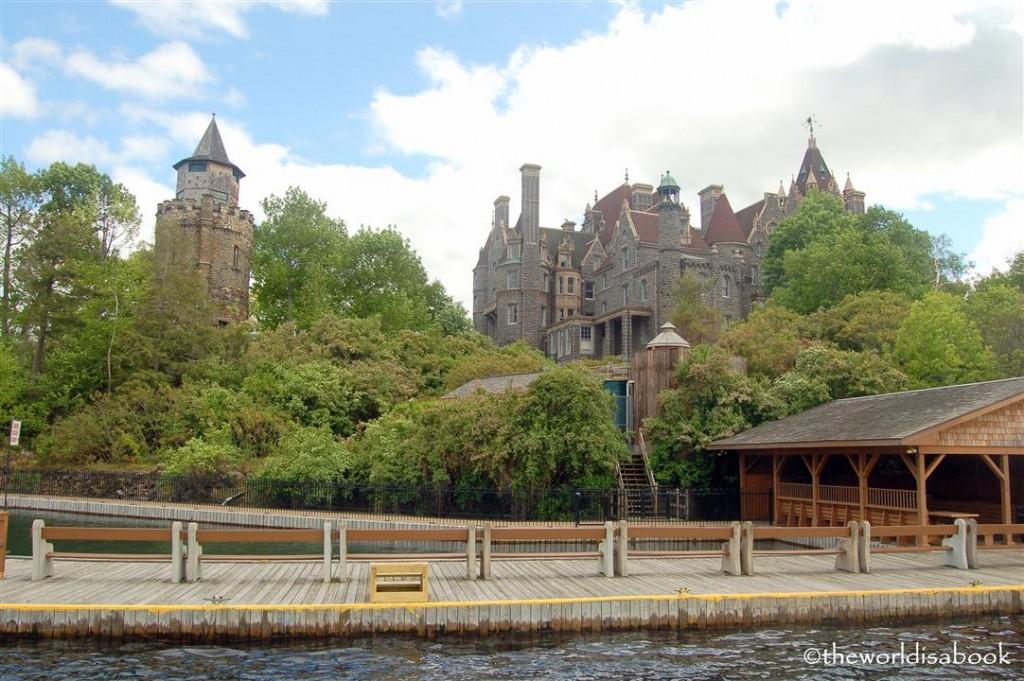 Boldt castle pier