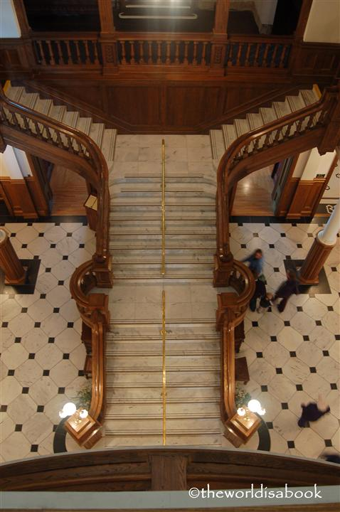 Boldt castle stairs