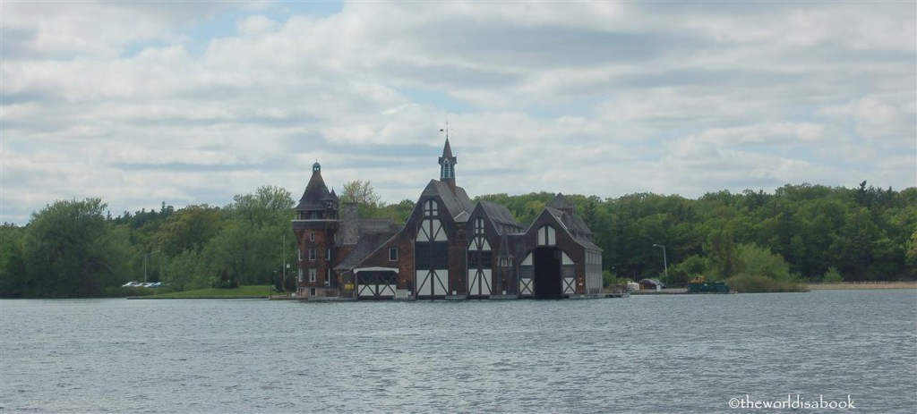 Boldt castle yacht house