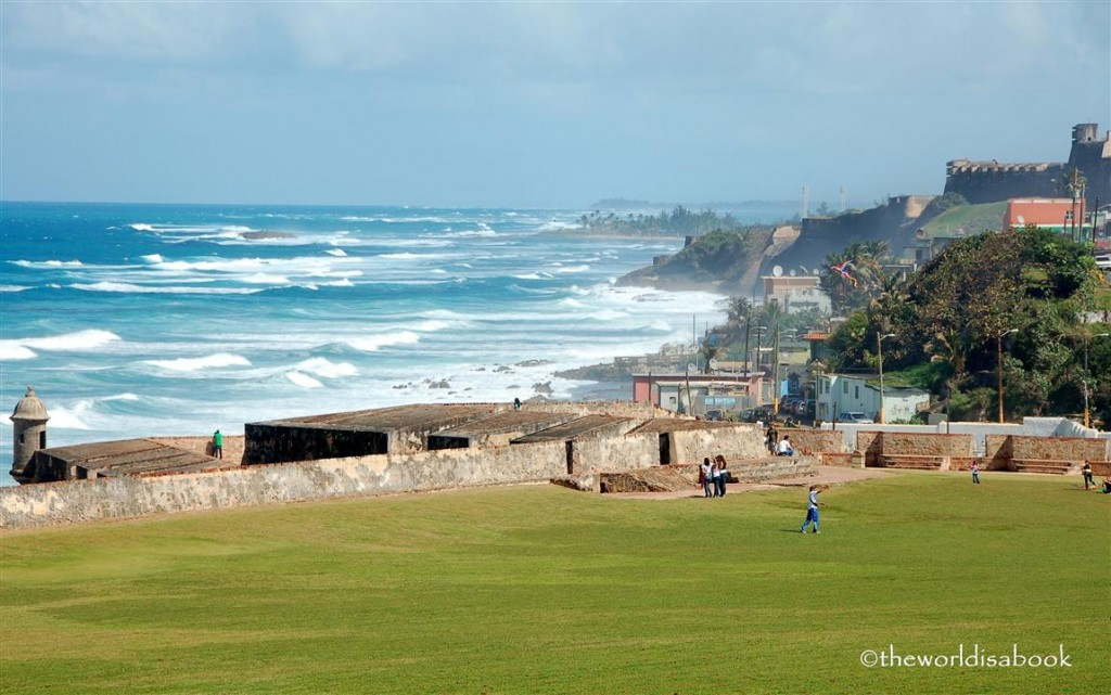 El Morro view of San Juan Bay Puerto Rico