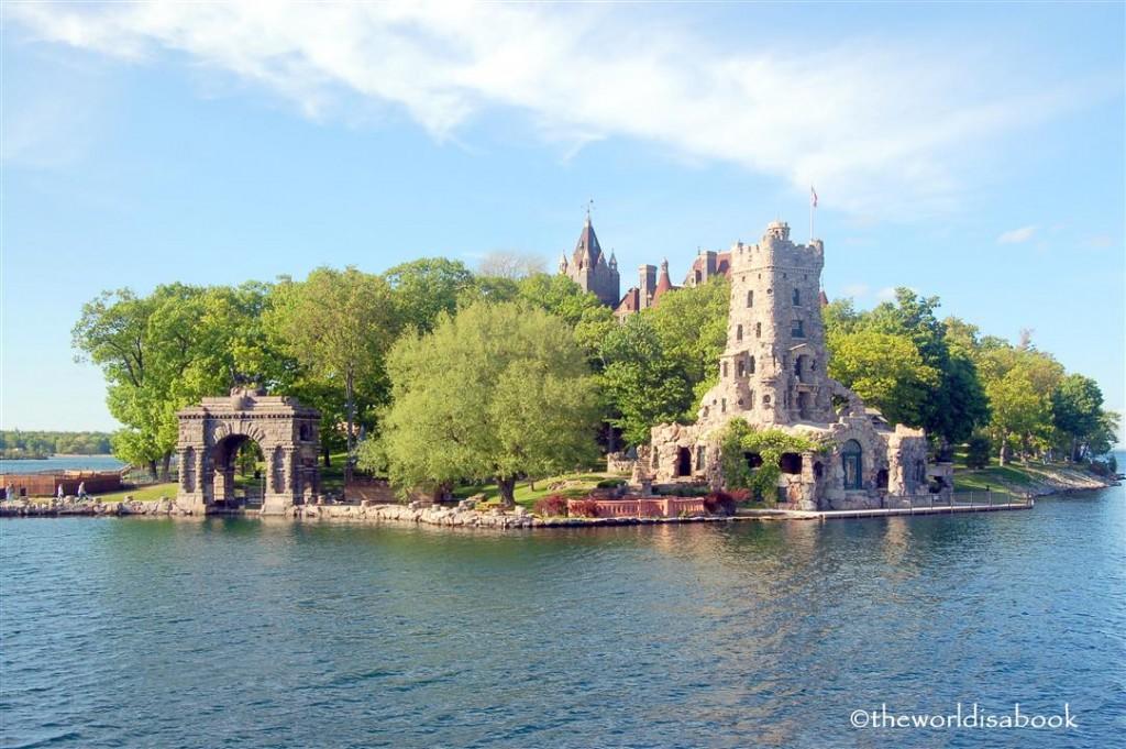 Boldt castle heart island