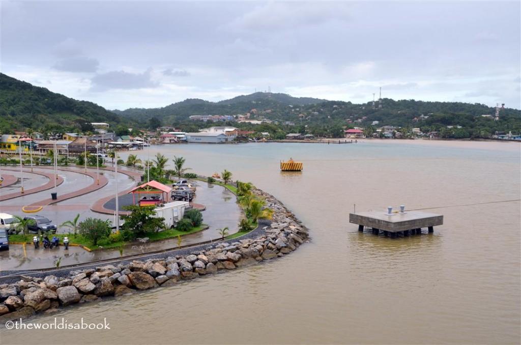 Roatan harbor Honduras