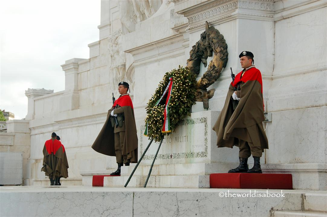 Tomb of the Unknown Soldier Rome