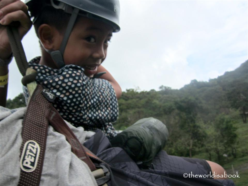 Zipline tandem with kids