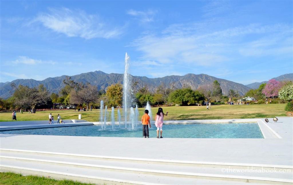 arboretum fountain image