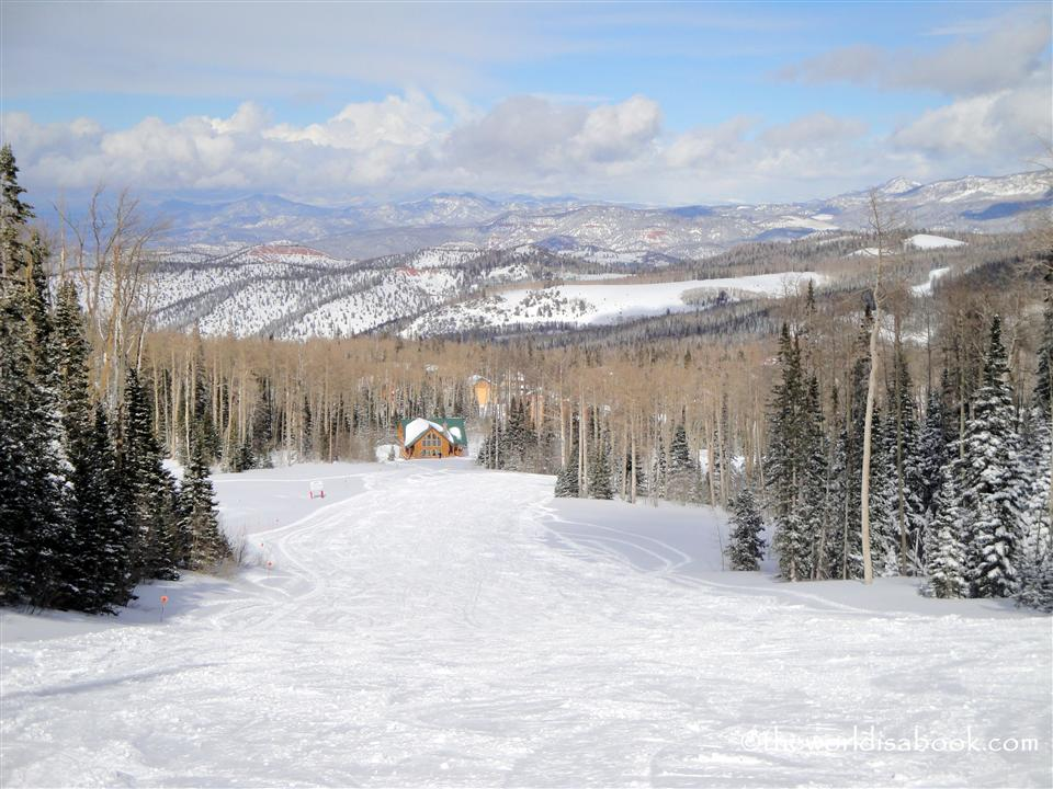 brian Head Ski resort view