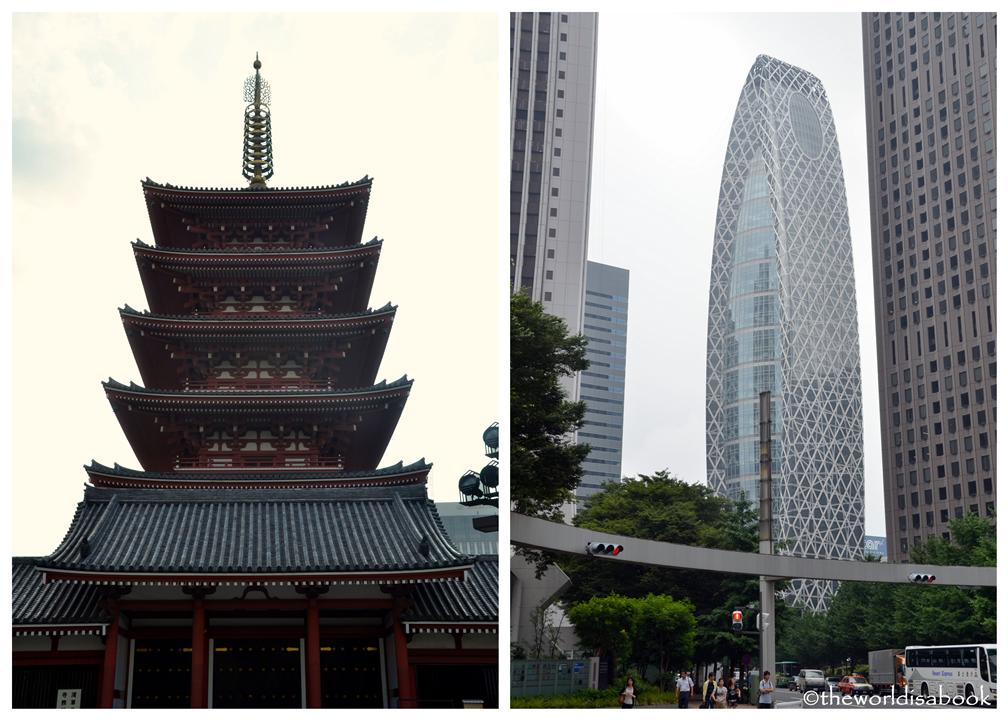 Old and New Yokyo image picture