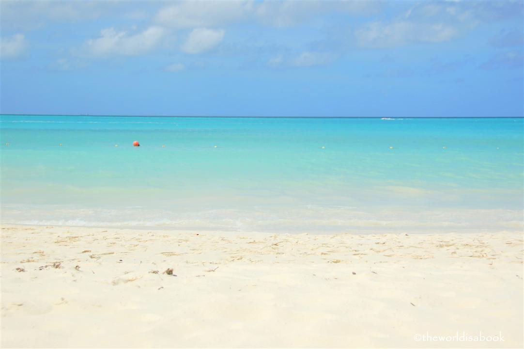 Aruba Palm Beach image