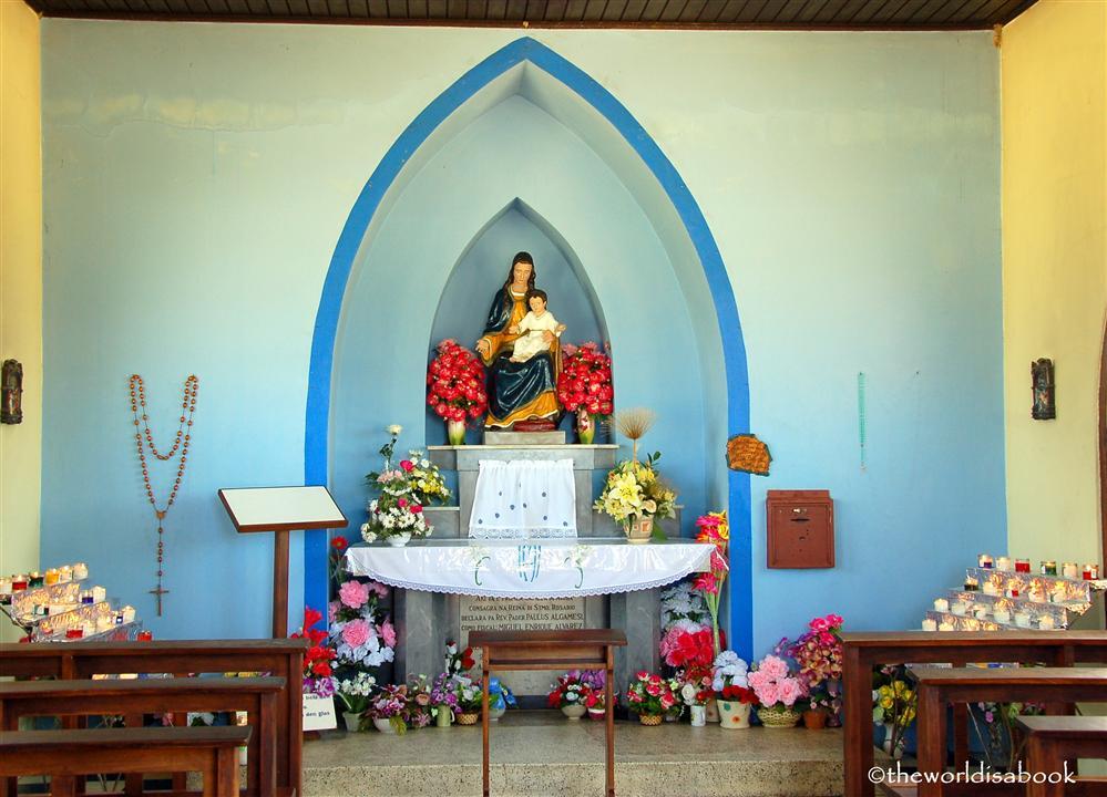 Aruba Alto vista chapel interior image