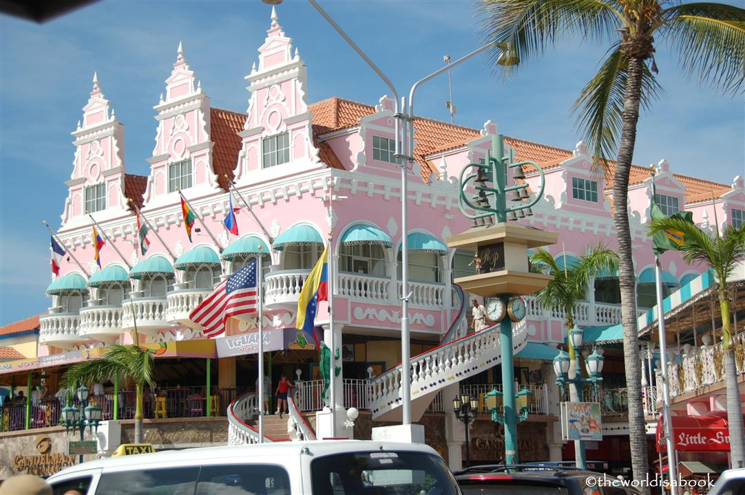 Oranjestad seaport mall image