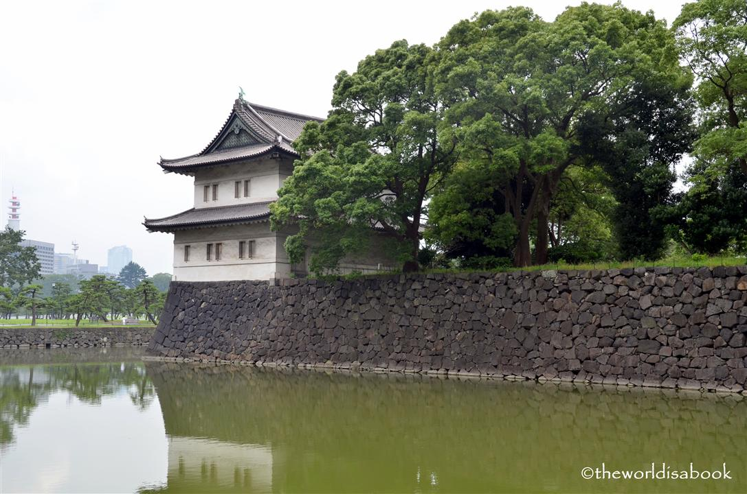 Tokyo Imperial palace wall image