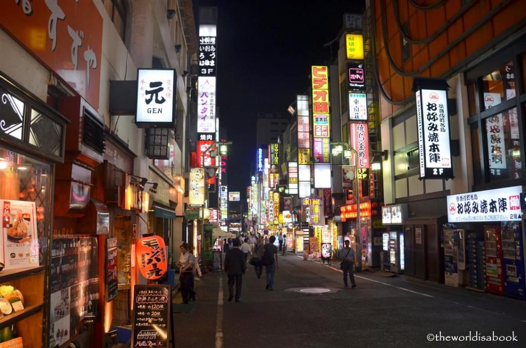 Tokyo Shinjuku at night image picture