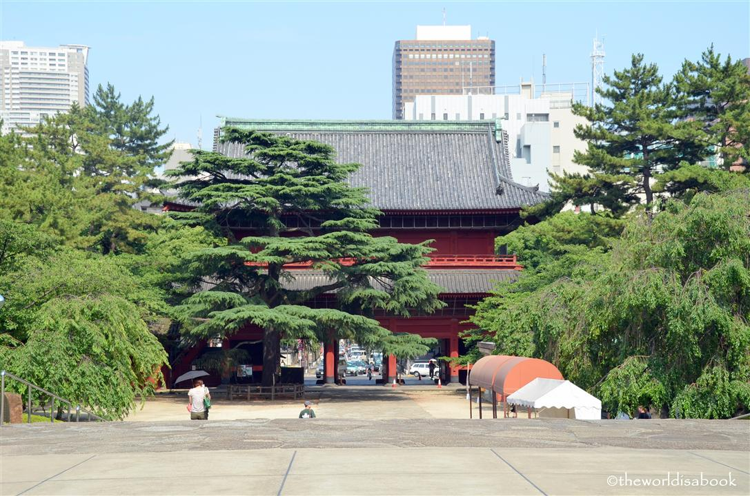 Tokyo Zojoji gate image picture