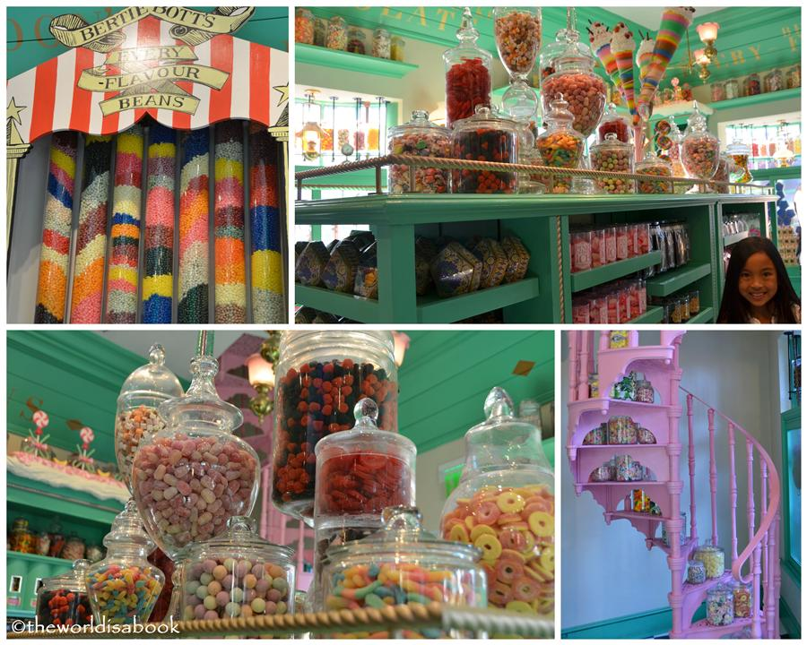 Wizarding world of Harry potter Honeydukes shop