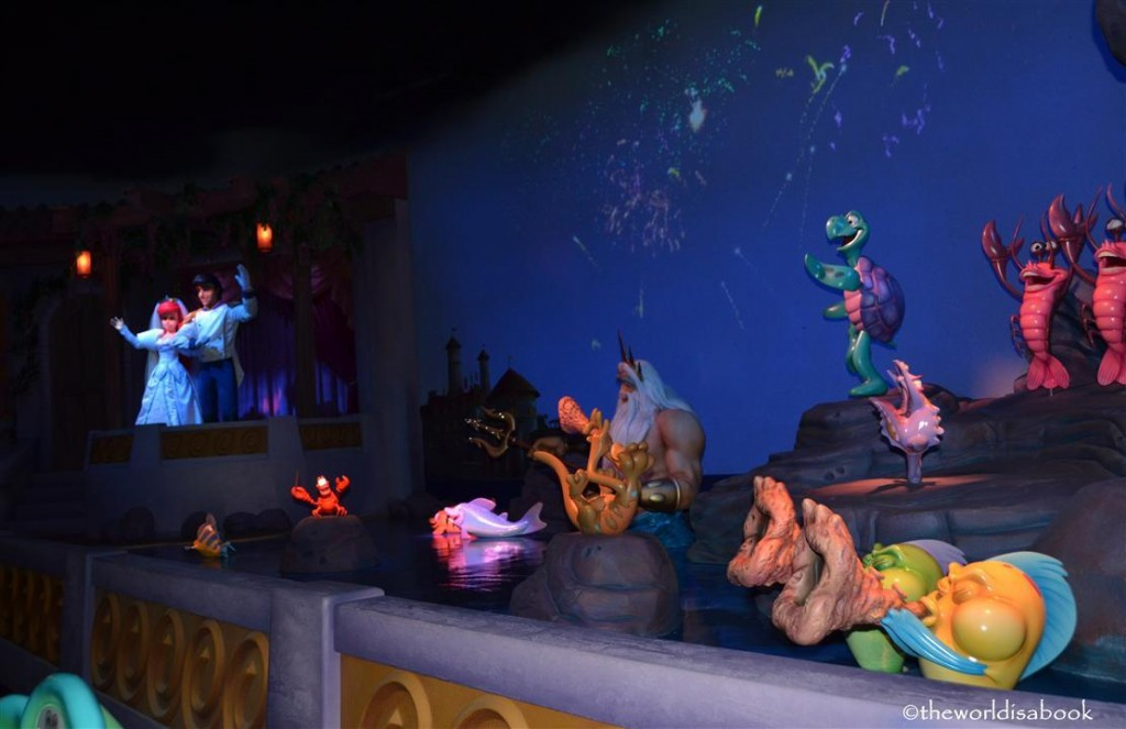 Ariel's Undersea Adventure ride