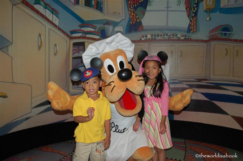 Chef Pluto Goofy's Kitchen