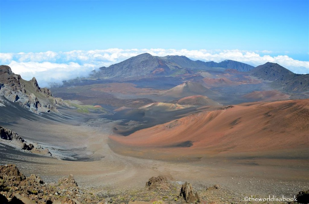 Haleakala summit crater image