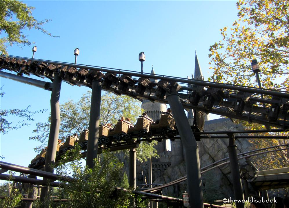 Wizarding World of Harry Potter Flight of the Hippogriff