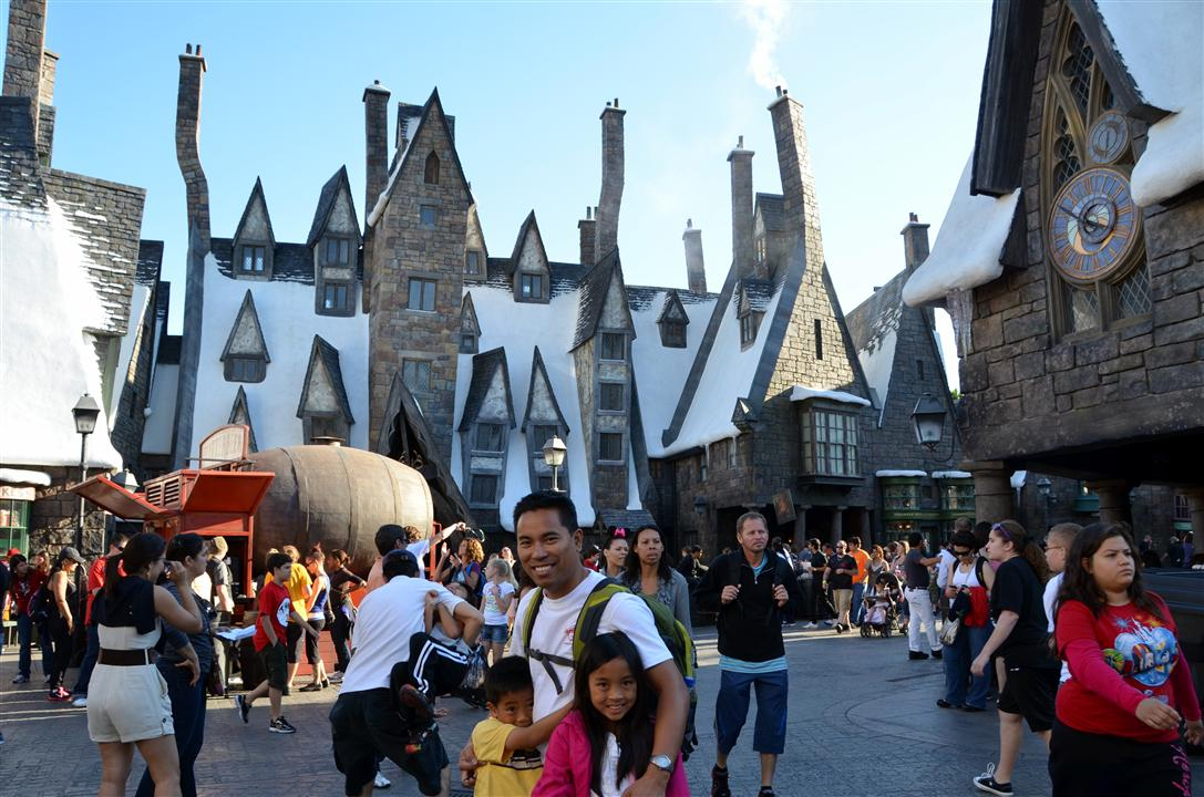 Wizarding world of Harry potter hogsmeade street