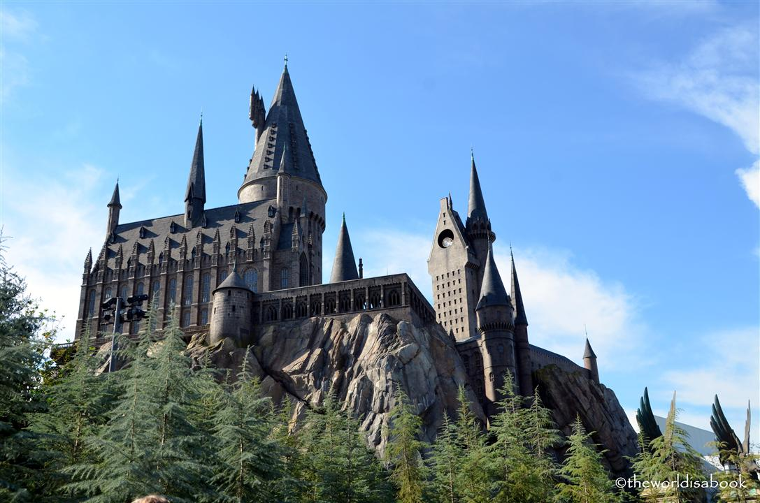 Wizarding world of Harry potter hogwarts's castle image