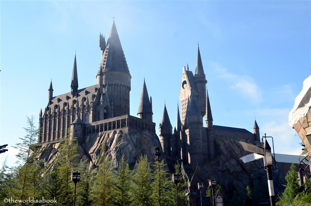 Wizarding world of Harry potter Hogwart's castle image