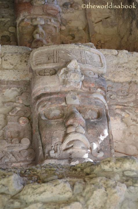 Kohunlich masks Mexico image