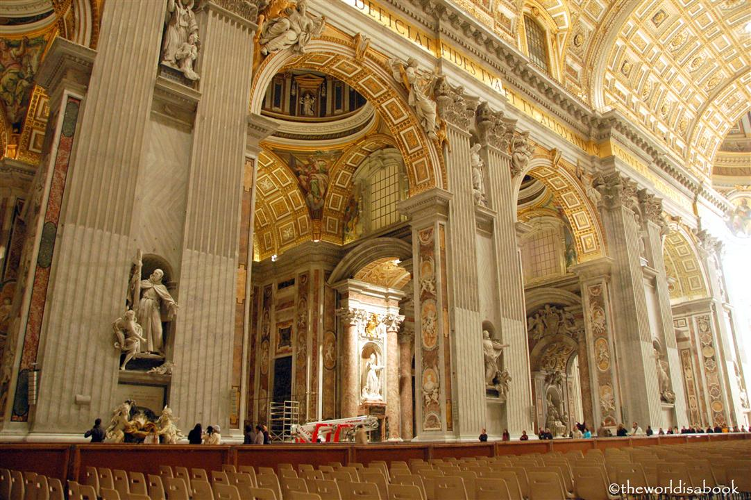 Visiting St. Peter's Basilica in Vatican City - The World ...